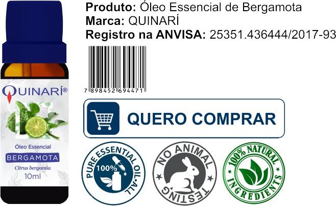 comprar oleo essencial de bergamota