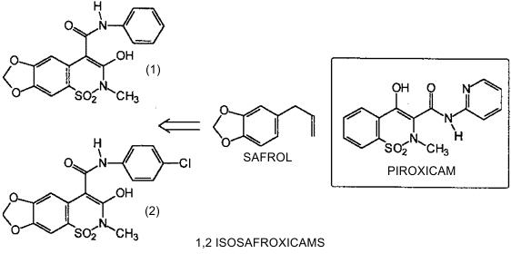 Isosafroxicams