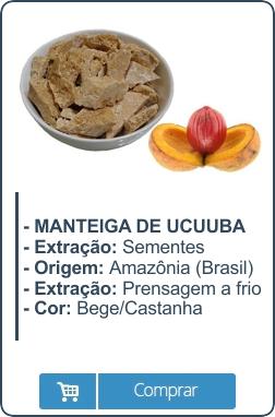 Manteiga de Ucuuba