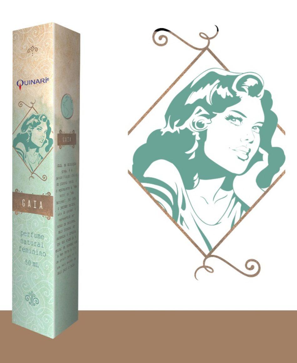 GAIA: perfume feminino vegano 100% natural com notas da natureza, cachoeira e orvalho.