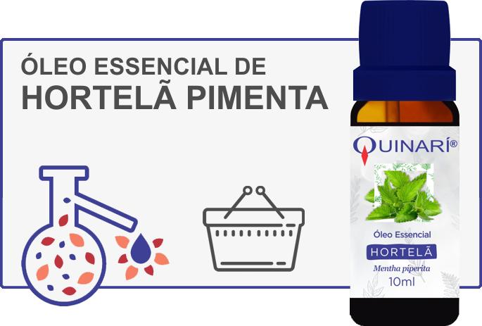 Óleo Essencial de Hortelã Pimenta Peppermint