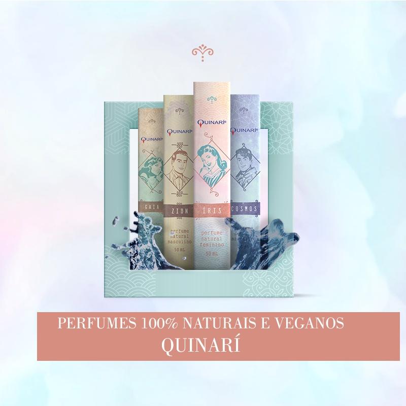 Perfumes Veganos Naturais QUINARÍ