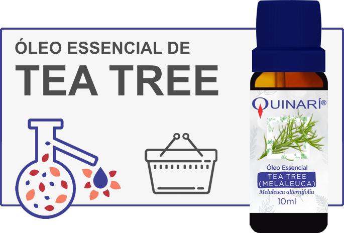 Comprar Óleo Essencial de Tea Tree