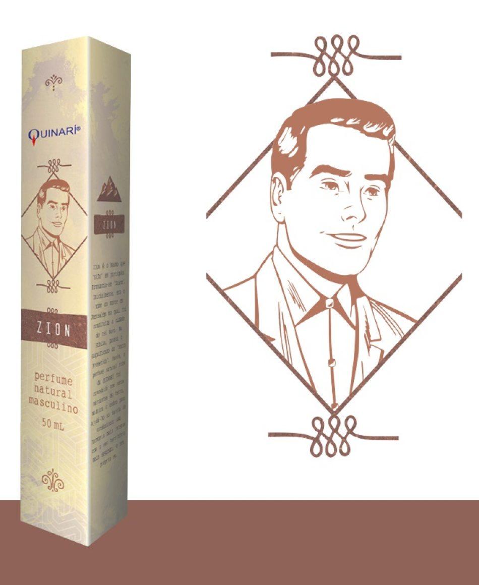 ZION: perfume masculino vegano 100% natural com notas de terra, madeira e cedro.